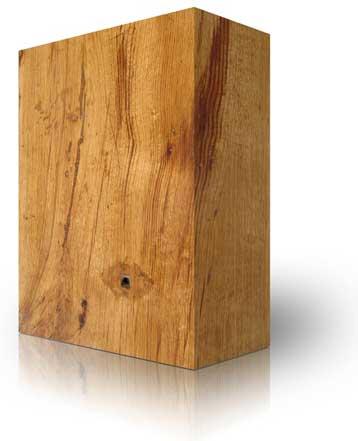 Holz - ein ökologisches Materialie