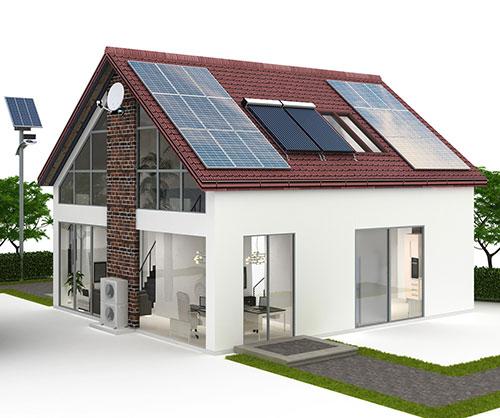 Solaranlage Fertighaus Thüringen